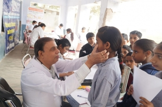 Free Multi Speciality Health Camp at Hasanpur Village, Gurgaon