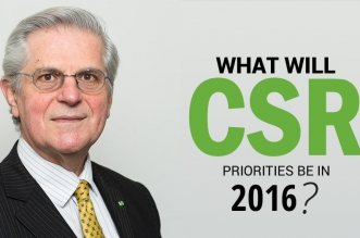 What will CSR priorities be in 2016 by Prof. Colin Coulson-Thomas