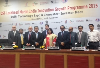 Launch of DST-Lockheed Martin India Innovation Growth Programme 2016-PROGRAMME ENTERS 10TH YEAR