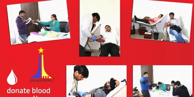 JM Housing Oraganises Blood Donation at JM Aroma