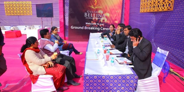 Work On Gulshan Bellina Kicks-off