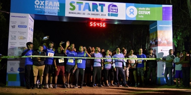 Bengaluru Joins Oxfam India to Fight Inequality; Walks to Help Raise INR 3.3 Crores