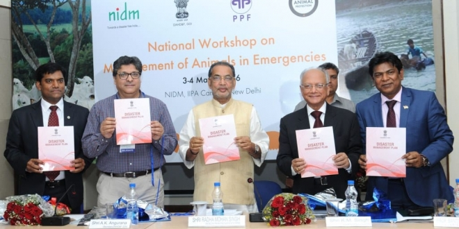 India Launches First National Disaster Management Plan for Animals