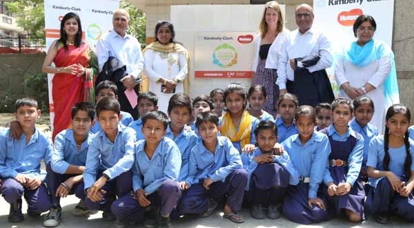 Kimberly-Clark & CAF India launch Toilets Change Lives project across 100 schools in India