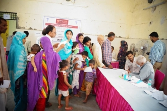 DLF Foundation organizes Free Health Check-up Camp