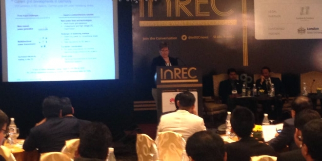India's Renewable Energy Congress (InREC) in Delhi