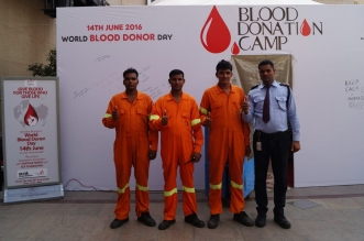 DLF Foundation organizes Blood Donation Camp to mark World Blood Donor Day