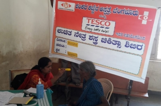 Tesco Bengaluru Supports Sankara Eye Hospital To Enable 430 Free Eye Surgeries