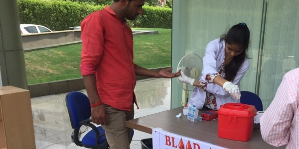 Vatika's Enviro conducts month long blood donation drive for Thalassemic patients