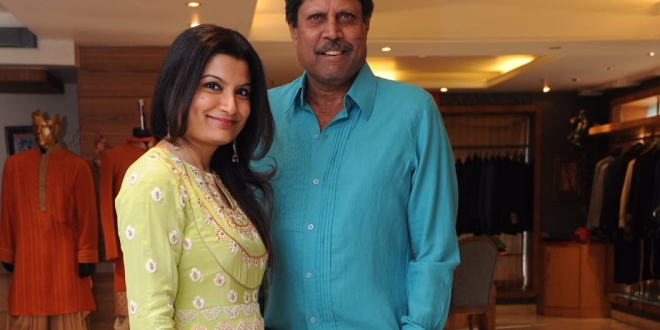 Jyotee Khaitan designs for Kapil Dev