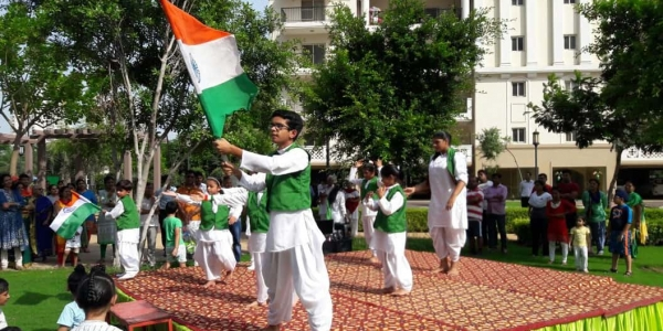 Independence Day celebrations held at DLF gardencity