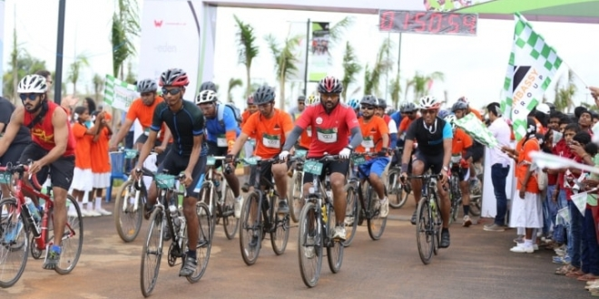 Bangaloreans Create Magic at the 3rd Edition of Embassy Pedal for the Planet 2016