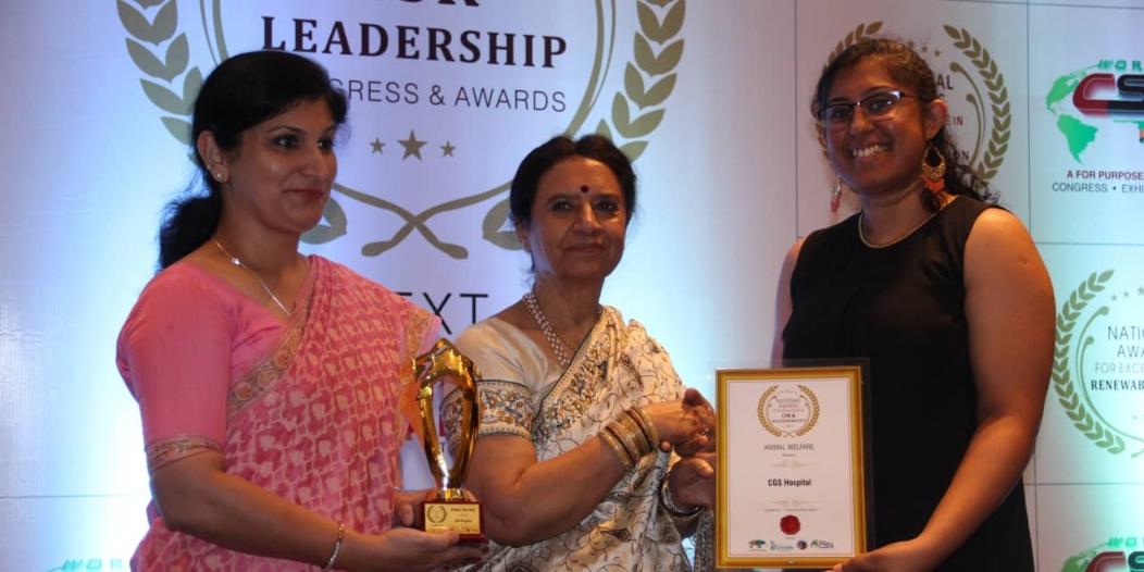 Gurgaon's Veterinary Hospital Bags Global Award