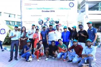 Tesco Bengaluru Organises CSR Month