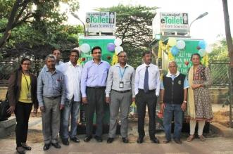 Tesco Bengaluru Installs E-toilets in Whitefield