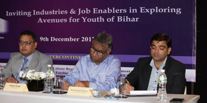 Bihar Skill Development Mission's initiative towards effective skilling of youth of Bihar