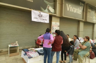 GULSHAN VIVANTE DONATE WARM CLOTHES
