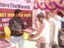 TDI INFRATECH  DISTRIBUTES BLANKETS AT TDI CITY, PANIPAT