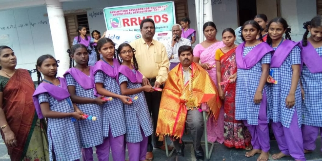 DENTAL AWARENESS CAMP CONDUCTED BY RRHEDS