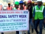 Safety Awareness March during National Safety Week Celebrations at Emaar