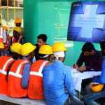 Free Health Camp & Medicine Distribution by Emaar India for Colonnade site labourers