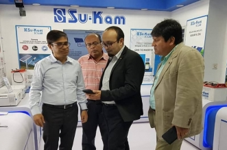 Bolivia Ambassador H. E. Mr. Sergio Dario Arispe Barrientos lauds superior technologies of Su-Kam