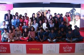 Seven Seas Ambassador Raveena Urges Mothers to #UnlockPotential of Underprivileged Children