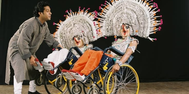 India's Wheelchair Dance Sports for Paralympic Games
