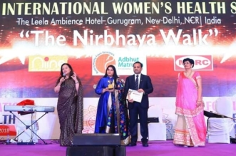Social Entrepreneurs Amar and Payal Tulsiyan, Co-Founders of Menstrual Hygiene Awareness Initiative the Niine Movement, Receive Partners in Health Award at FOGSI International Women's Health Summit