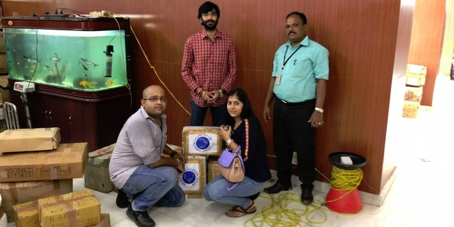 VEGREX COMMUNICATIONS EXTENDS ITS SUPPORT TOWARDS KERALA FLOOD VICTIMS