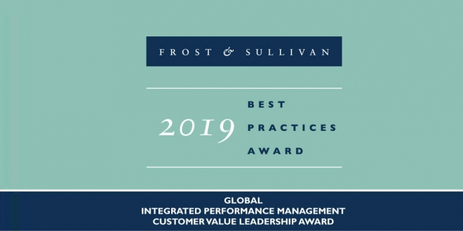 Yokogawa Recognized with Frost & Sullivan Global Customer Value Leadership Award for Integrated Performance Management