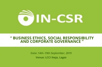 BUSINESS ETHICS, SOCIAL RESPONSIBILITY AND CORPORATE