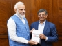 PM Modi with Prof. Jagdish
