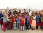 Barco celebrates Children's Day with children from Sakshi NGO at Swaminarayan Akshardham Delhi as the temple completes 14 years