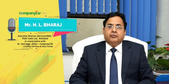 Mr HL Bharaj, Executive Director (Services/S&E), THDC India Ltd., Rishikesh