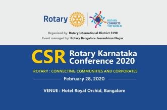 Rotary Karnataka CSR Conference